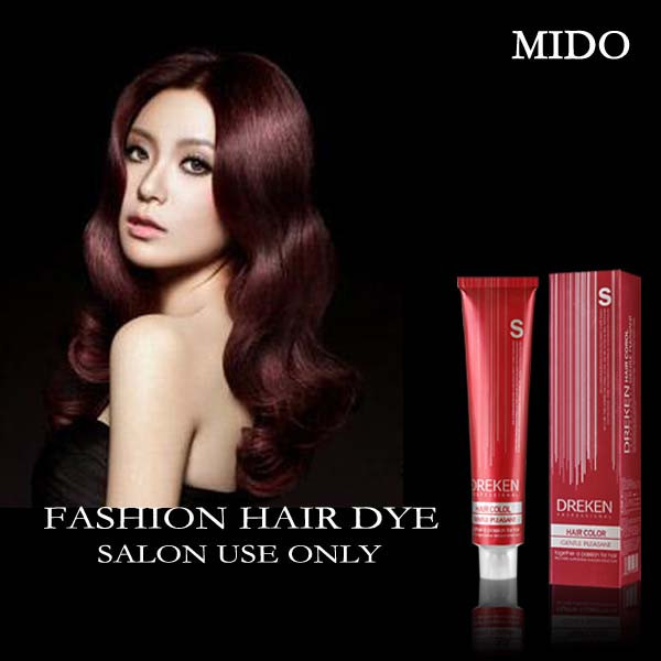 Bright Red Hair Dye Provide Free