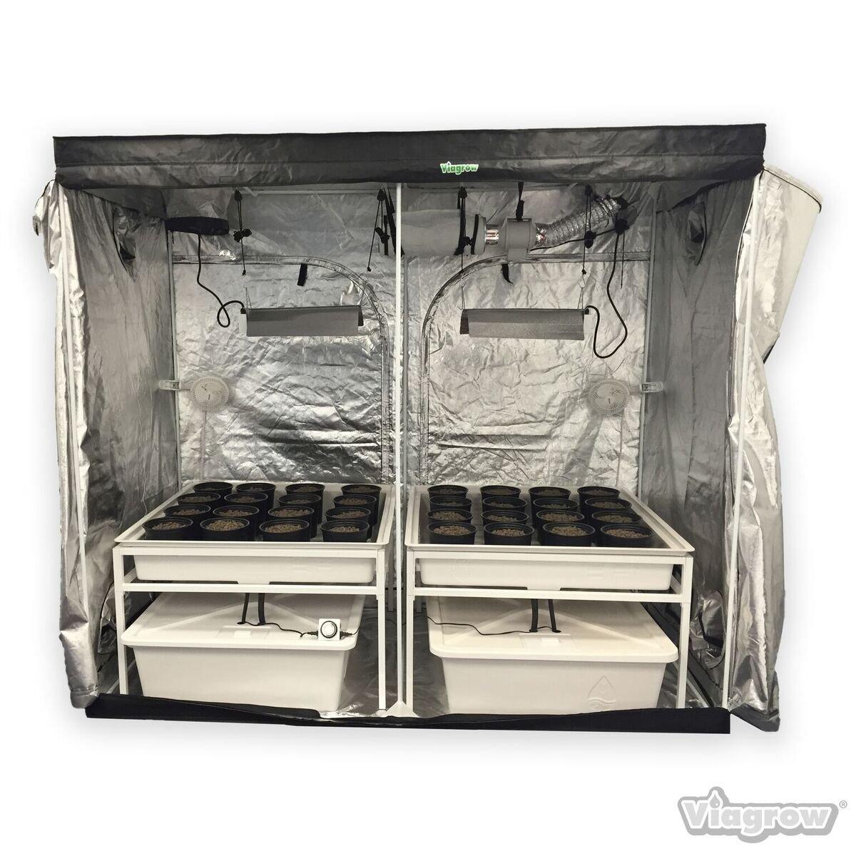 Viagrow Hydro Grow Room Deluxe, 4' x 8' x 7'