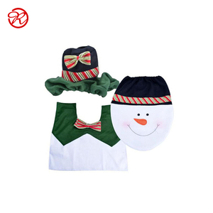 Pretty Cute Snowman Christmas Ornaments Bathroom Set From Alibaba Gold Supplier