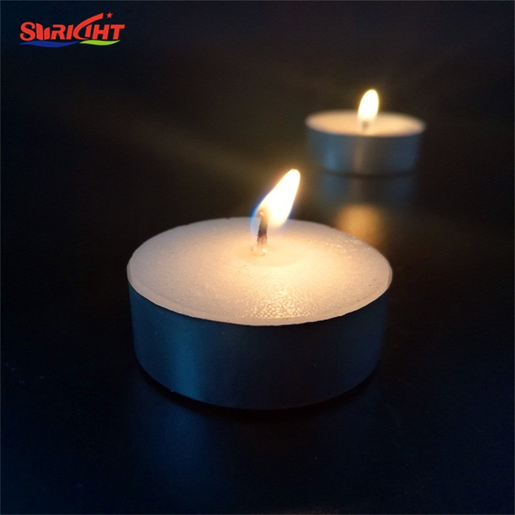 new prodcuts innovative christmas decoration tealight paraffin wax candle