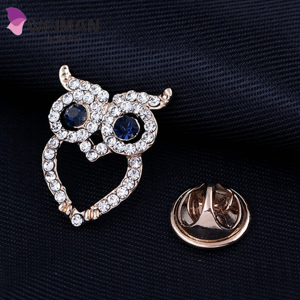 Malaysia Fashion Blouse Shirt Collar Stud Clip Acrylic stone Pin Brooch baby Brooches for women Clothing&Accessories