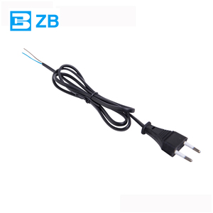European VDE 2 Round Pin power extension cord