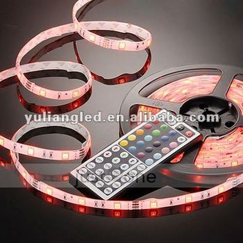 Remote Control Rgb Led Strip,5050 Smd Water-resistant Led Rope ...