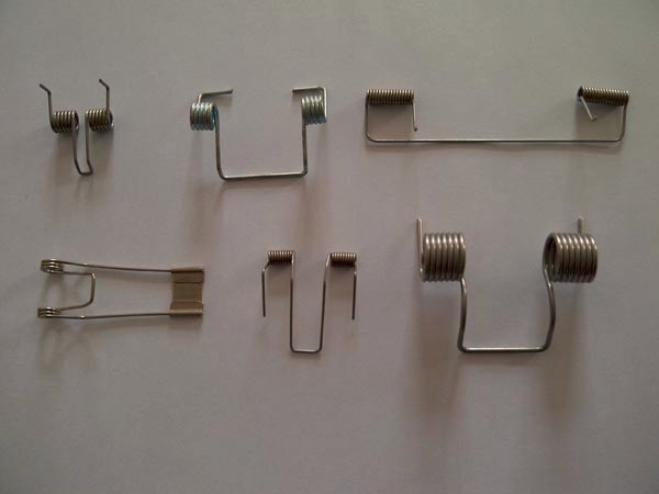 Recessed Lighting Torsion Spring Bracket : Customized steel metal wire spring spiral torsion