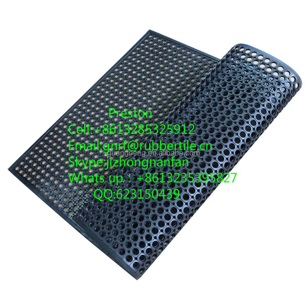 Rubber Kitchen Mats: Antibacterial Kitchen Mat/rubber Kitchen Mat/oil