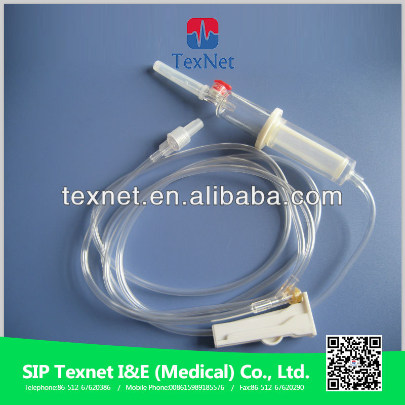 blood transfusion giving set,blood transfusion set with filter and air vent needle,blood transfusion set