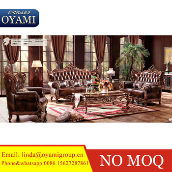 English Country Style Master Design Luxury Sofa Bed Living Room Fu