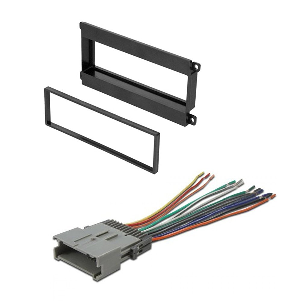 Get Quotations · CAR Stereo Radio CD Player Receiver Install Mount KIT  Harness Chevrolet GEO Metro 1995-2001