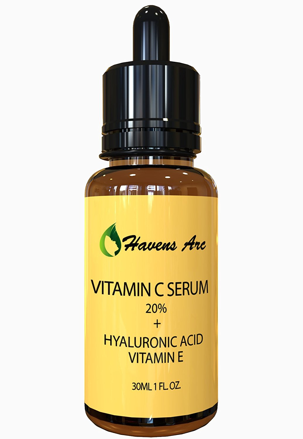 Vitamin C Serum for Face 20 % - Anti-aging Serum-anti Wrinkle Serum- Antioxidant Treatment - Quickly Reduce Pores-instantly Softens Hydrated Skin - Natural Ingredients Incl. Organic Rosehip Oil & Sea Buckthorn Oil, Hyaluronic Acid, Ferulic Acid – Guaranteed Results or Your