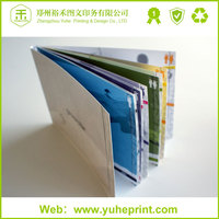 2015 new design glossy lamination offset printing electronic parts catalog