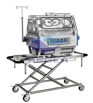 Ambulance frame base transport delivery led screen portable infant incubator for baby for sale