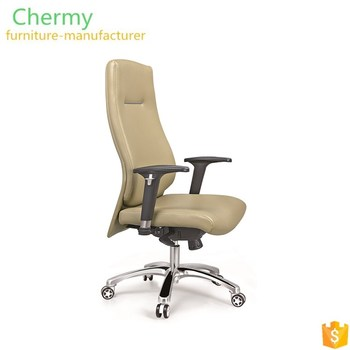 2018 modern executive leather reclining arm chair with wheels manufacturer
