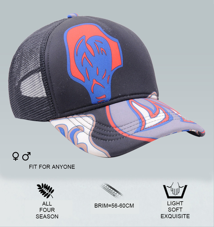 aa73a8a9c15 Cheap Custom Printed Mesh Blank Rope Trucker Cap With Best Quality ...