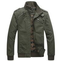 Winter Jacket Men Casual Cotton Stand Collar Coats Army Military Outwears men's Male clothes overcoat jaqueta masculina