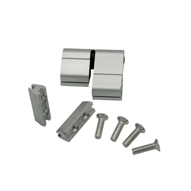 Set of 2 Aluminum Butt Weld Hinges