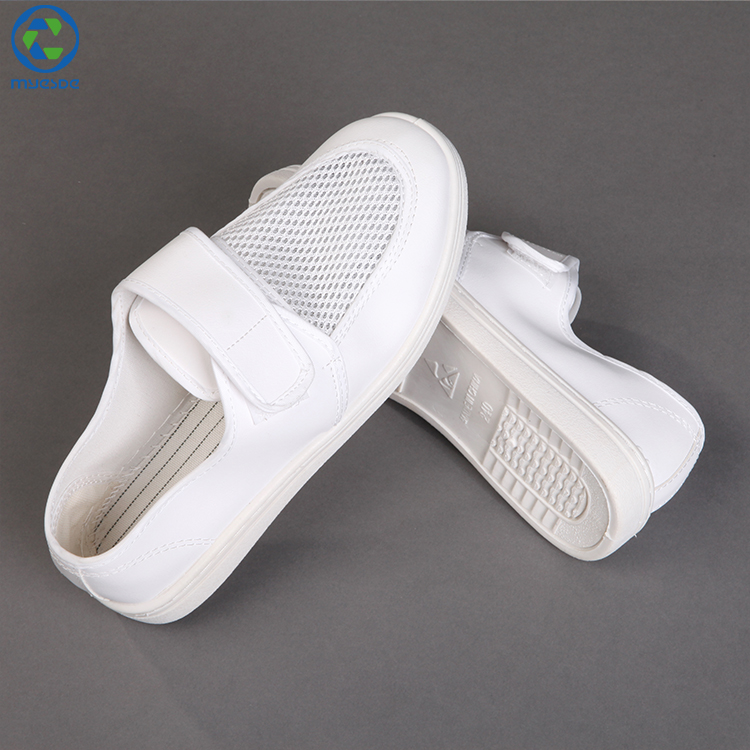 6e257a38a3cd China White Cleanroom Esd Pvc Antistatic Safety Shoes - Buy Safety ...