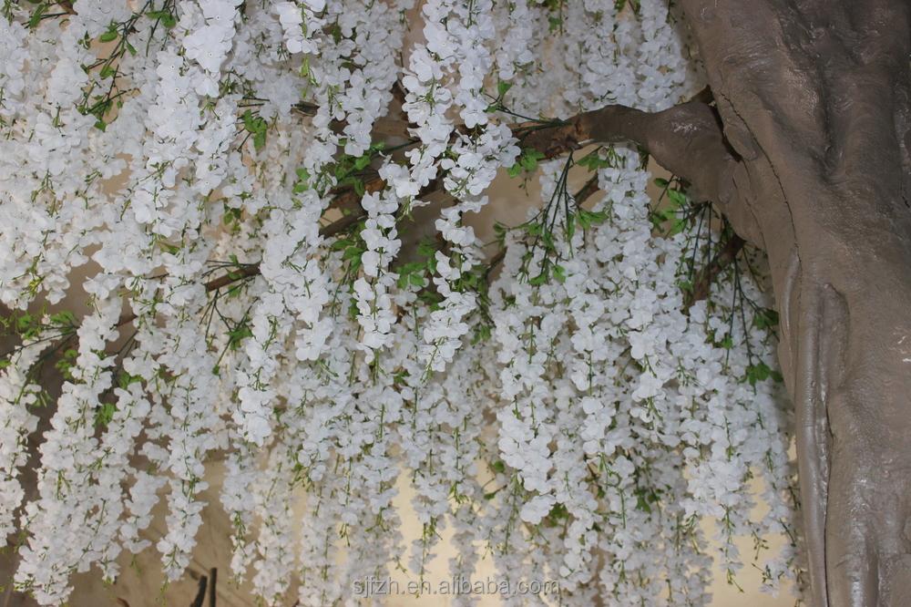 Indoor Tall White Wedding Blossom Tree For Garden Decoration White ...