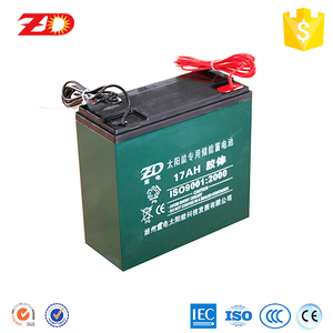 12V17AH DEEP CYCLE VRLA AUTO BATTERY SOLAR BATTERY GEL BATTERY