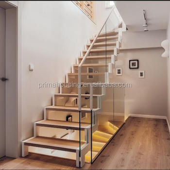Building Home Timber Stair/ Double Stringer Staircase Construction - Buy  Double Stringer Staircase Construction,Building Home Timber Stair,Double