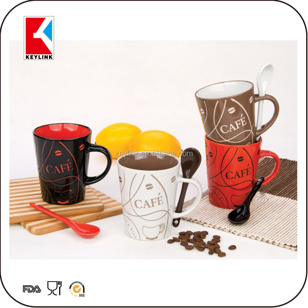 hot sale promotional gift cup stoneware tea mug coffee cup cheap factory ceramic mug