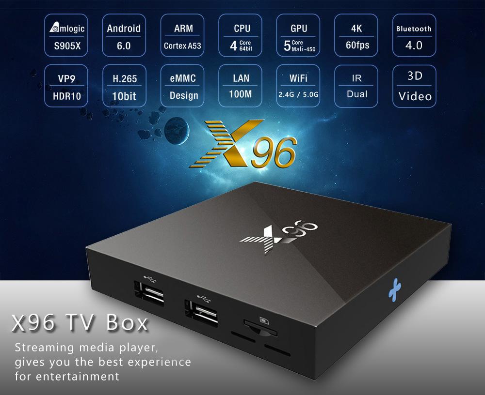 X96 Set Top Box