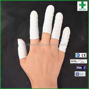 Wholesale cheap anti-slip disposable latex finger cover
