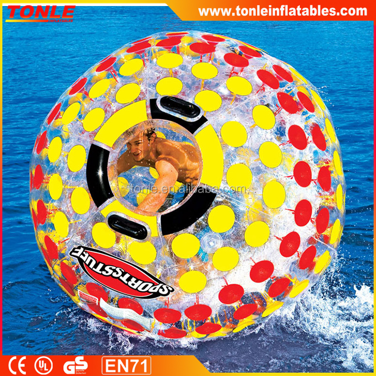 new design Sports Stuff Nuclear Globe Walk On Water Inflatable Ball