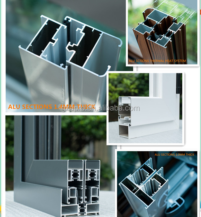 China Metal Window Frame Commercial Aluminum Window Frames Price ...