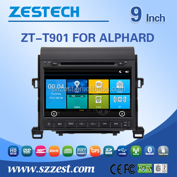 Win Ce 6 0 Os 800*480 Hd Touch Screen Car Stereo For Toyota Alphard Double  Din Auto Spare Parts With Gps Radio Audio Swc 3g Wifi - Buy Car Stereo For