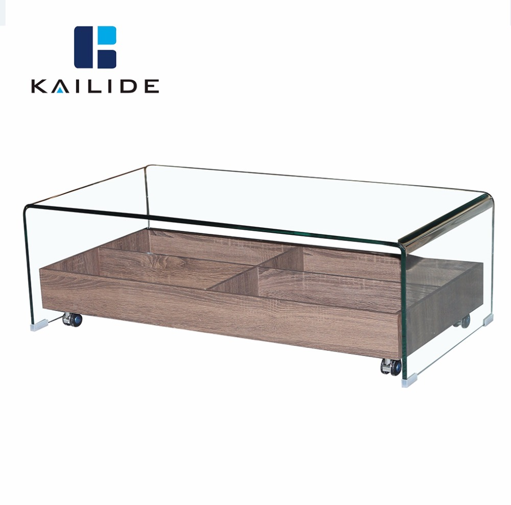 Glass Table With Shelf Part - 29: Glass Top Center Table Design, Glass Top Center Table Design Suppliers And  Manufacturers At Alibaba.com