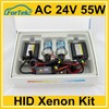 AC 24V 55W xenon light slim car HID kits H1 6000K 18 months warranty
