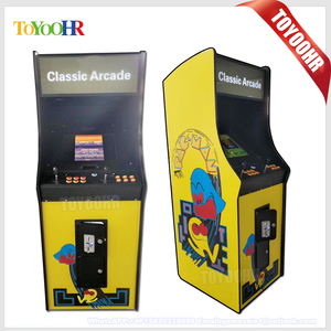 Wooden Cabinet Kit Wireless Stick Virtual Pinball Dmd Video Multi Table Cocktail Upright Arcade Game Machine