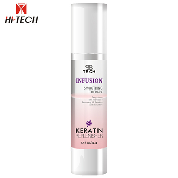 natural Moisture Keratin hair repair serum replenisher Leave in conditioner for smoothing and brightening