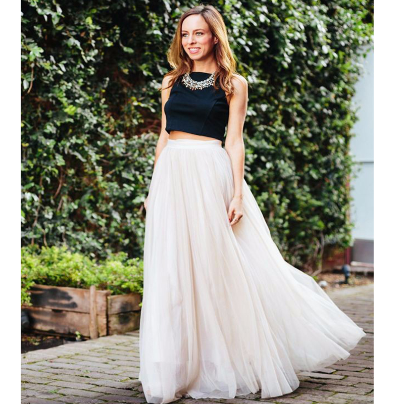 22250797bc High Waisted Maxi Skirt With Crop Top - Redskirtz