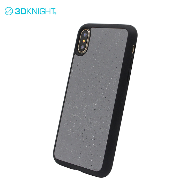 Fast delivery Cement gray white oem think for iphone X protective case