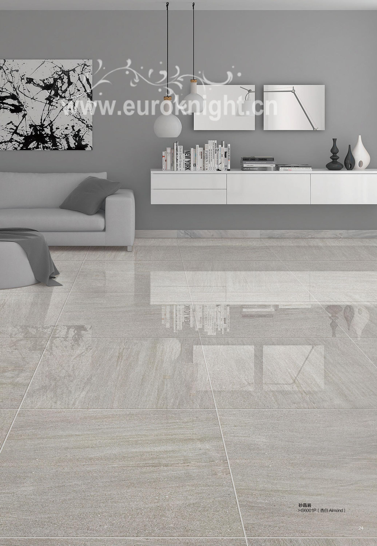 Metallic Bright Colored Porcelain Floor Tile Polish For House - 24 x 36 porcelain tile