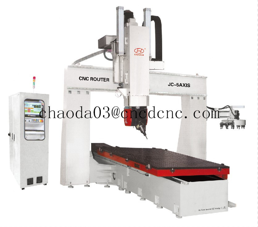five axis milling machine