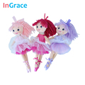 InGrace fantasy yarn skirt ballerina dolls for girls fashion girls toys unique gifts 30CM sweet dream