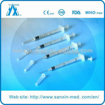 Ad Syringe/auto Disable Syringe 1ml
