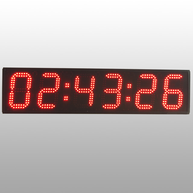 Large Outdoor One Side <strong>Display</strong> Waterproof 6 Inch <strong>LED</strong> Race Events Timer, Sports Clock Digital