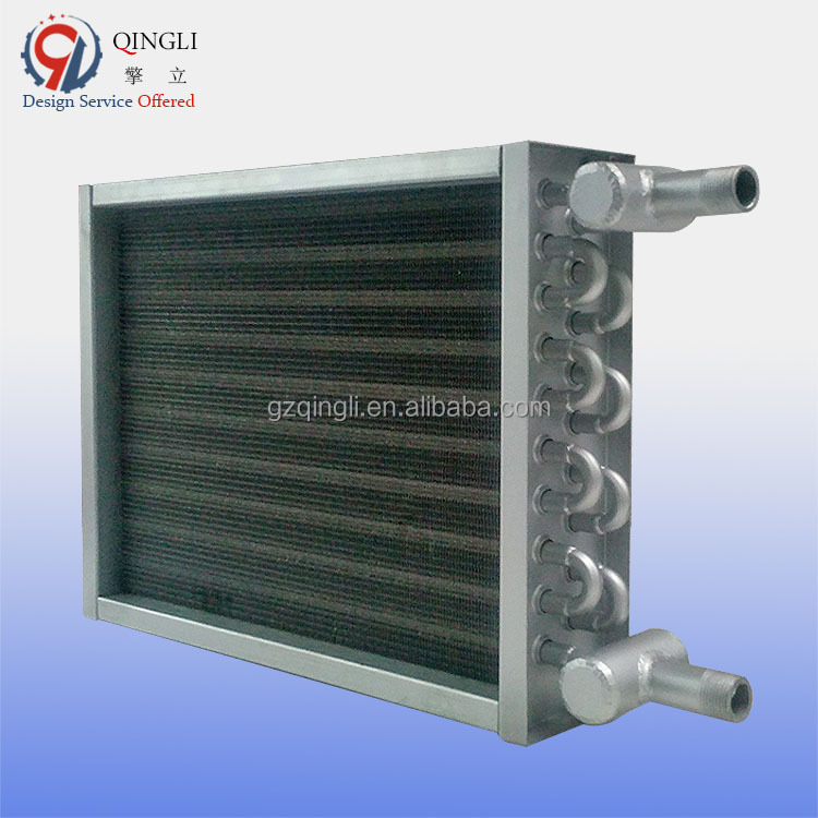 AIR COOLED fin and tube HEAT EXCHANGER FOR CONDENSATE STEAM