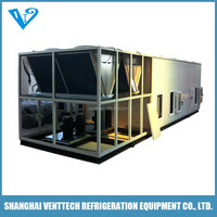 Factory price roof and ground 3 ton package unit with heat pump