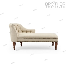 New design luxury fabric chaise recliner lounge sofa for bedroom