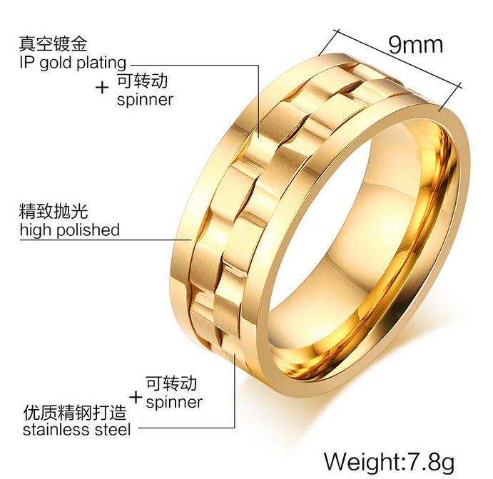 Saudi Arabia Gold Wedding Ring Price 316l Stainless Steel Silver For Product On Alibaba