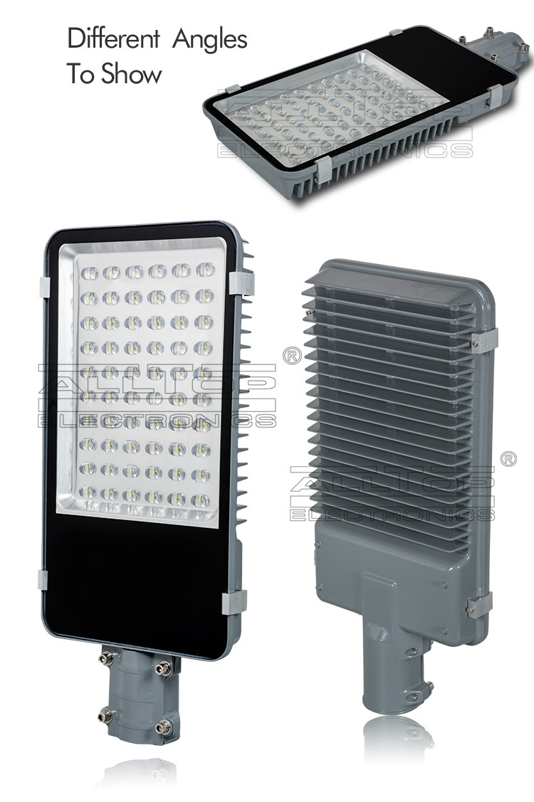 Waterproof ip65 60w bridgelux cob street light led die cast