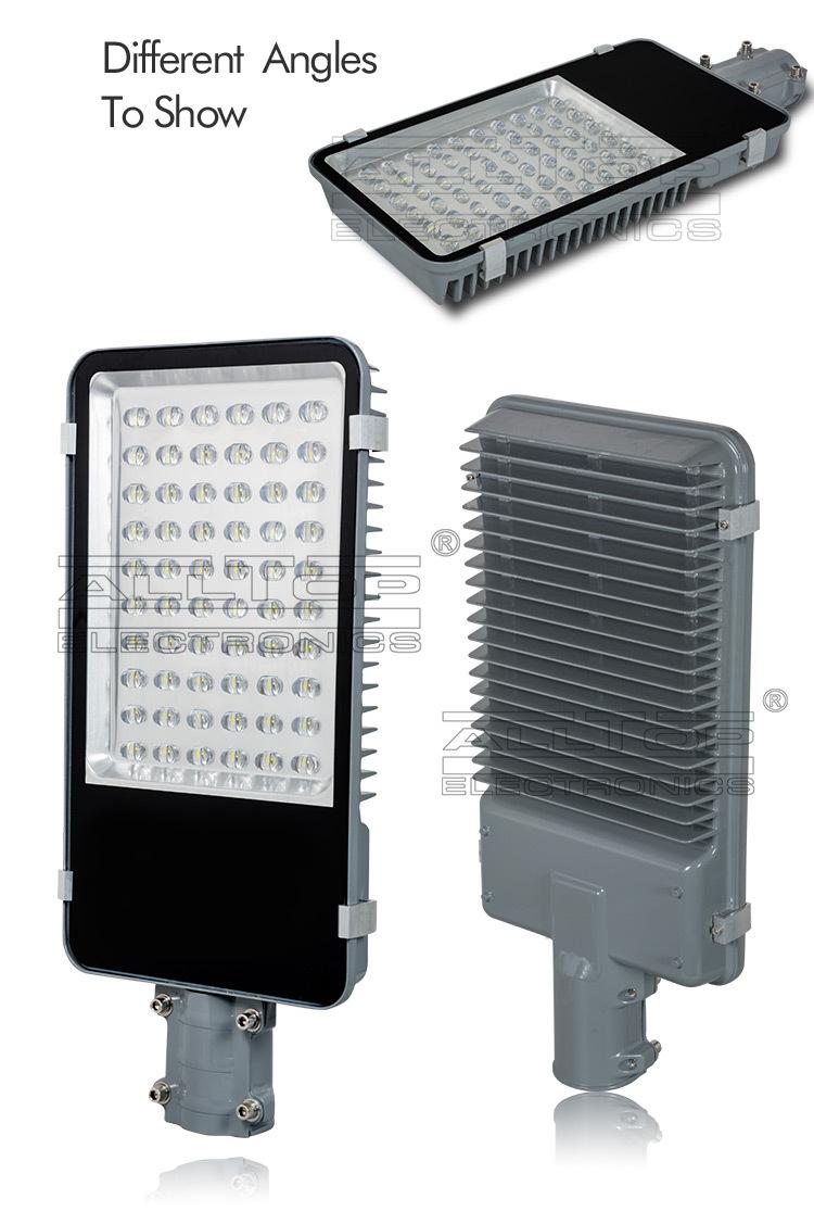 Outdoor waterproof bridgelux cob solar 60w ip65 led street light