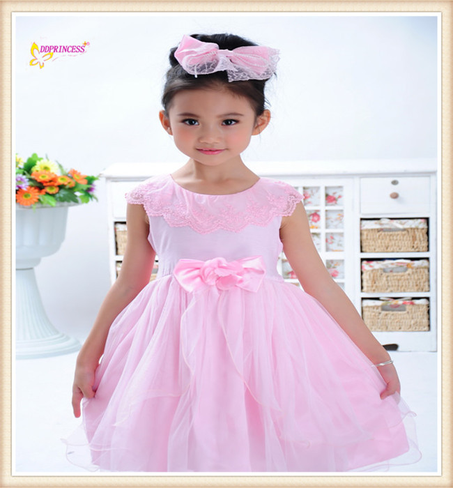 Elegant Girl Fairy Tutu Dress New Design Breathable Birthday Flower Kid Dancing Party Wear For Child's Evening Party