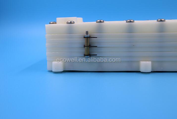 4 5 6 7 Plates Titanium Electrolysis Chamber Coated