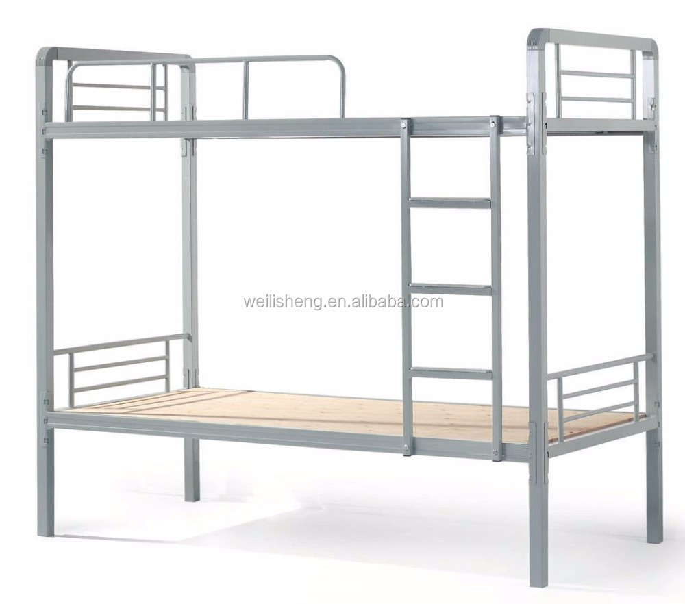 Steel double deck bed - Double Decker Metal Bed Double Decker Metal Bed Suppliers And Manufacturers At Alibaba Com