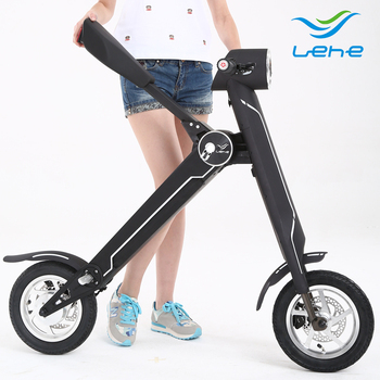 Folding Electric Scooter >> Folding Electric Scooter Scoot E Bike K1 View E City Bike Lehe